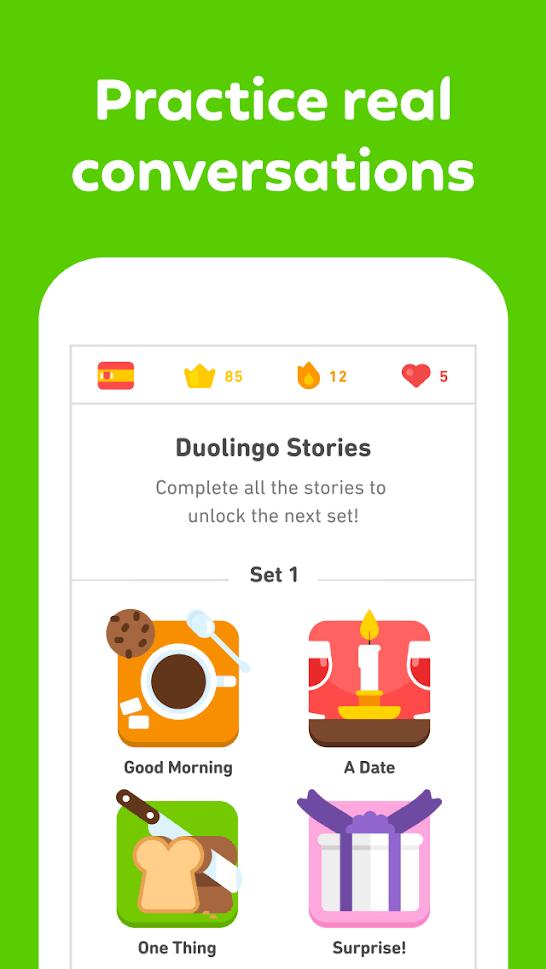 Duolingo app 3