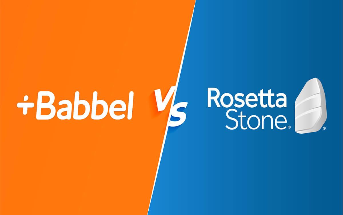 babbel vs rosetta stone logo