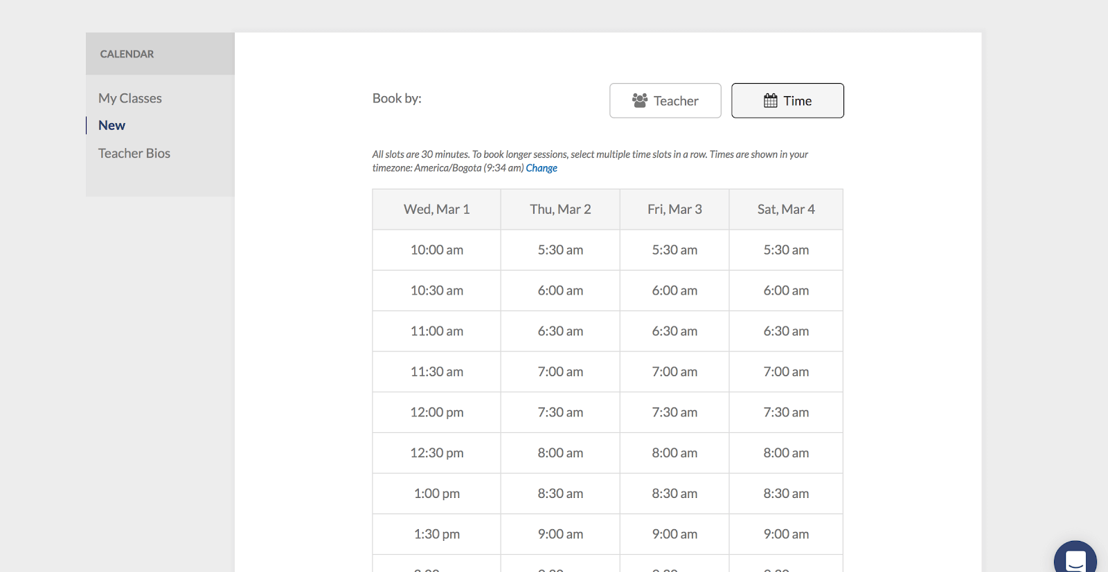BaseLang - Scheduling