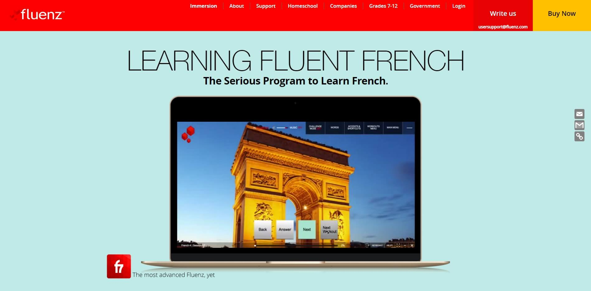 Fluenz - 18 Online French Courses
