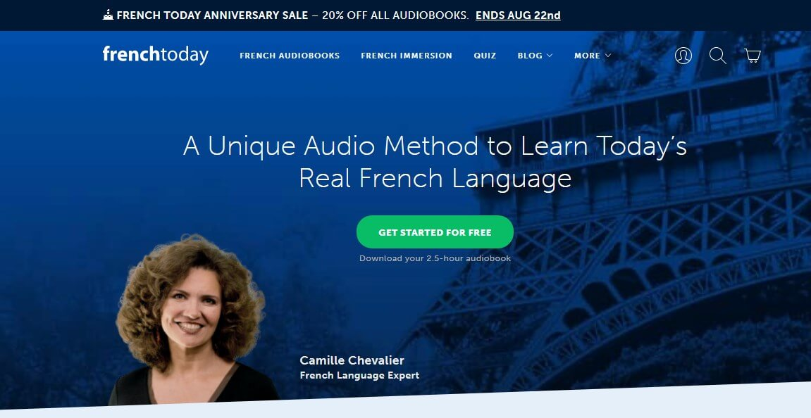 French Today - 18 Online French Courses