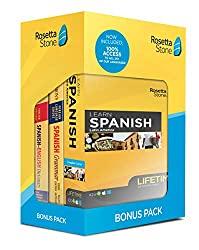 yellow box of Rosetta stone bonus pack