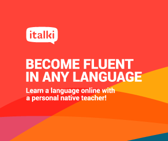 become fluent in any language with italki