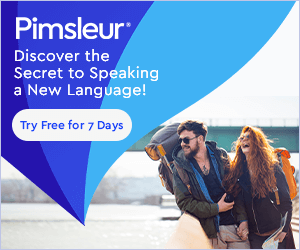 pimsleur free trial picture with man and woman together