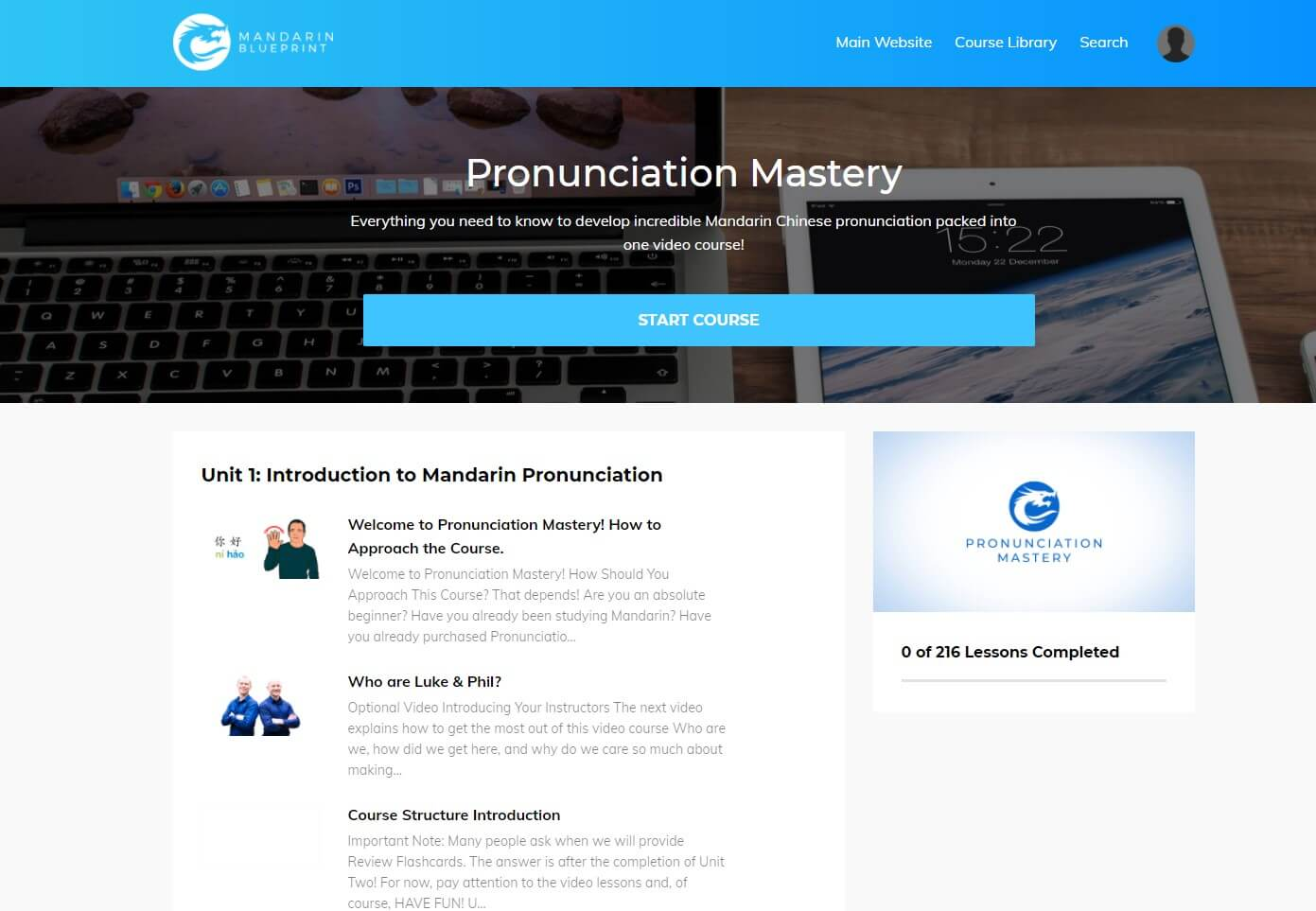 Mandarin Blueprint - Pronunciation Mastery